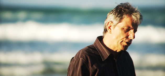 Ken Legg at Beach